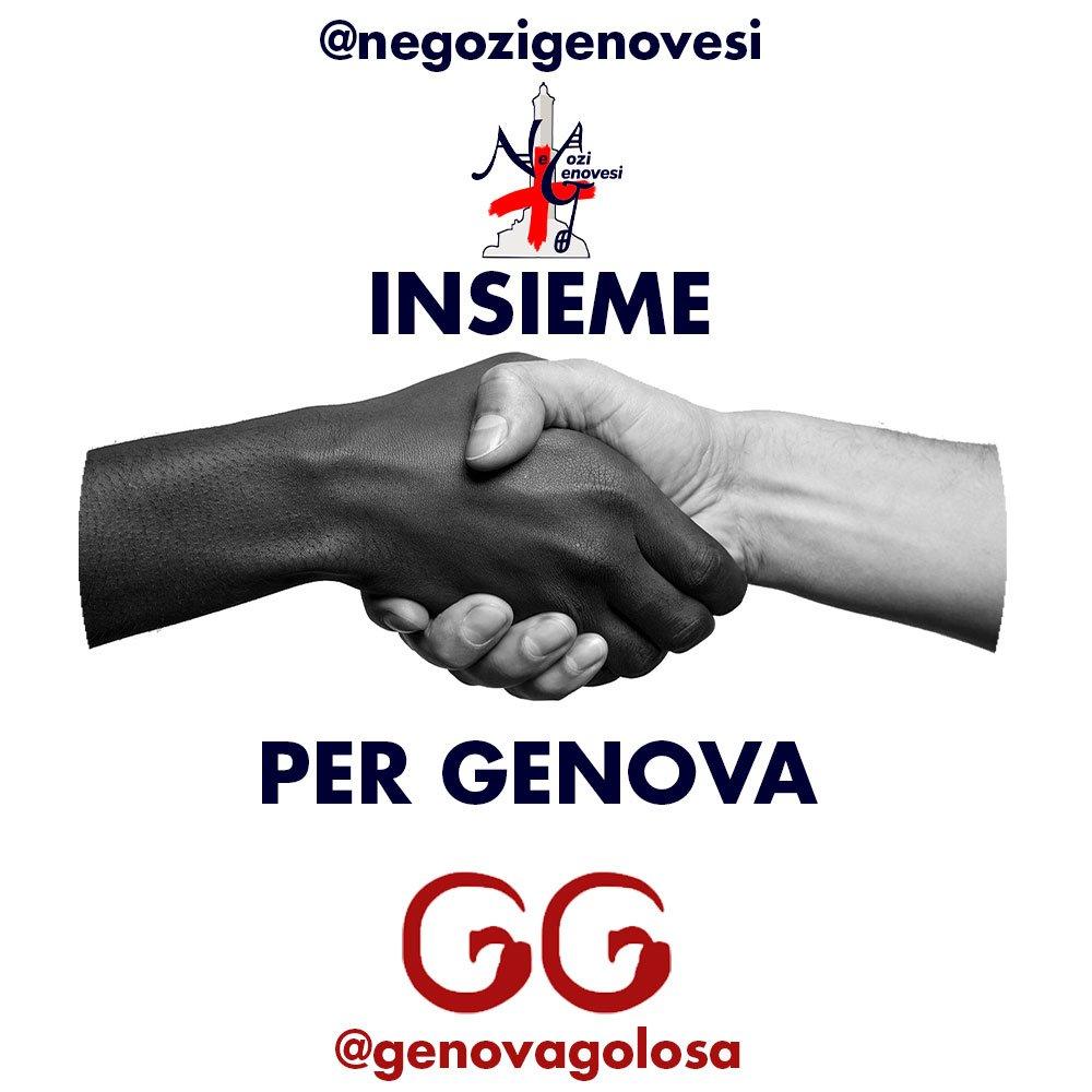 Negozi Genovesi e Genova Golosa insieme