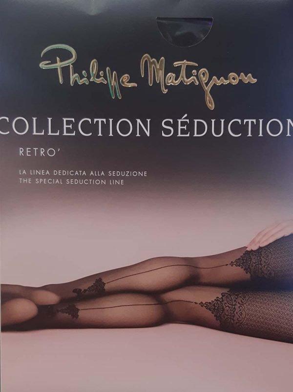 Collant retro collezione seducion Philippe Matignon